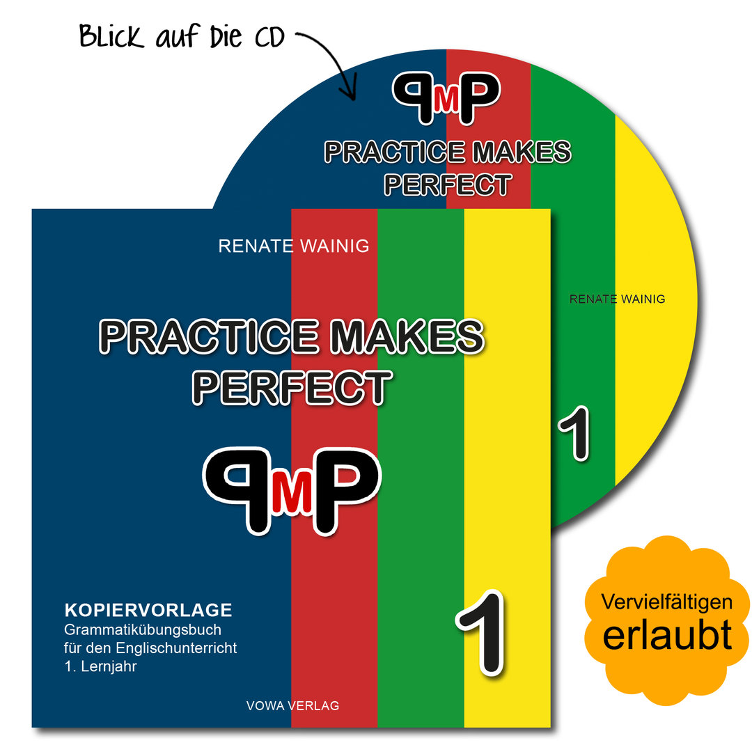 Kopiervorlage als CD: Practice Makes Perfect 1