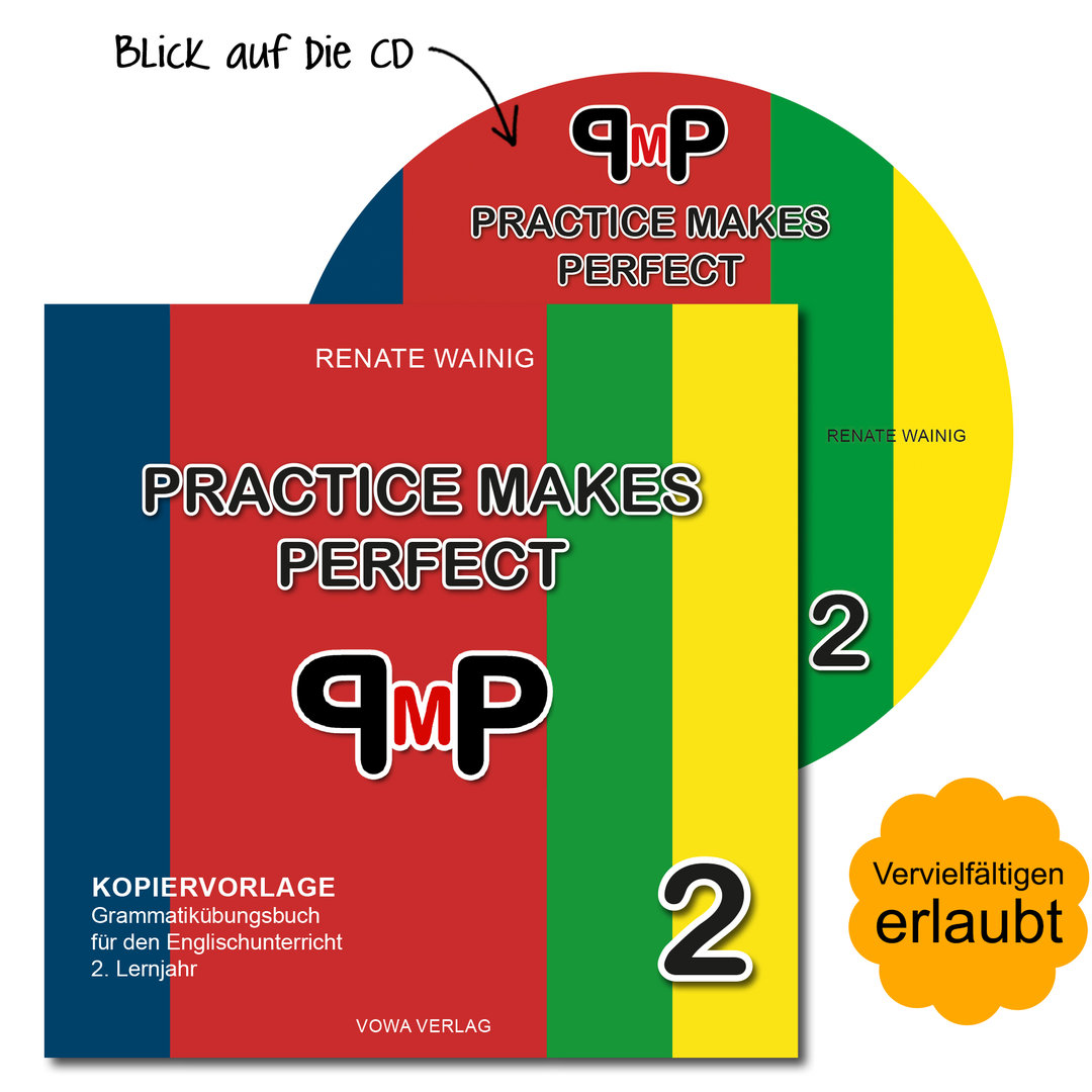Kopiervorlage als CD: Practice Makes Perfect 2