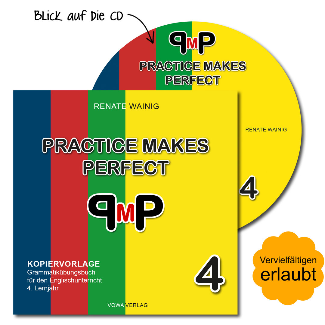 Kopiervorlage als CD: Practice Makes Perfect 4